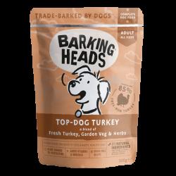 BARKING HEADS TOP DOG TURKEY KONSERVAI ŠUNIMS SU KALAKUTIENA