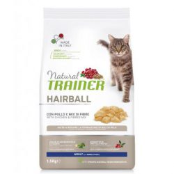 NATURAL TRAINER CAT HAIRBALL SU VIŠTIENA 1,5KG