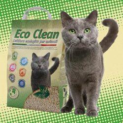 CAT LITTER ECO CLEAN 6L