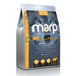 Marp Think Natural – Green Mountains – Super Premium sausas ėdalas šunims su ėriena