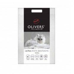 Oliver's ULTRA WHITE ekologiškas molio kraikas