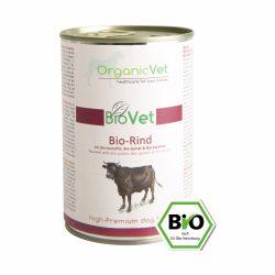 OrganicVet BioVet BIO BEEF konservas šunims