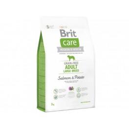 Brit Care Grain-free begrūdis šunų maistas su lašiša ir bulvėmis
