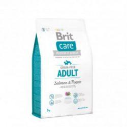Brit Care Grain-free suaugusių šunų maistas su lašiša ir bulvėmis