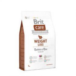 Brit Care weight Loss maistas su triušiena ir ryžiais suaugusiems šunims