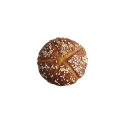 """""""BAKERY BREAD ROLL"""" Duonelė natūralūs skanėstas šunims su Vištiena 100g."""