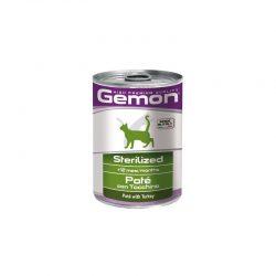 Gemon cat sterelizuotoms katėmskonservuotas paštetas su kalakutiena